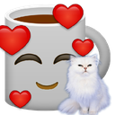 Emoji for kittycoffee
