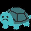 Emoji for sadturtle