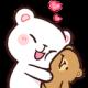 Emoji for hug