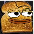 Emoji for pepetoast