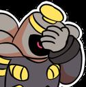 Emoji for DusknoirFacepalm