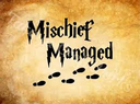 Emoji for mischiefmanaged
