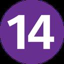 Emoji for 14