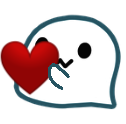:ghost_heart: Discord Emote