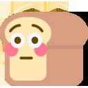 Emoji for flushedbread