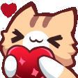 Emoji for hearts