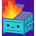 :dumpsterfirecute: Discord Emote