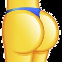 Emoji for booty