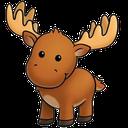 Emoji for moose