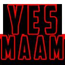 Emoji for yesmaam