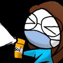 Emoji for coronaspray