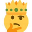 Emoji for thinkcrown