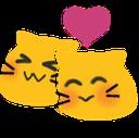 Emoji for BlobSnuggleCat