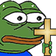 Emoji for MonkaChrist