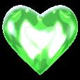 Emoji for heartgreen