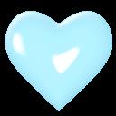 Emoji for heartblue