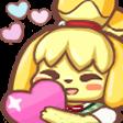 Emoji for isahearts