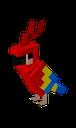 Emoji for papuga