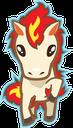 Emoji for Ponyta