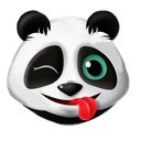 :pandamntongue: