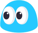 Emoji for BlueBlobEyes