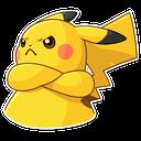 Emoji for Pikachu_Angry