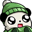 Emoji for Panda_Green