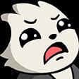 Emoji for Panda_Sad