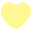 Emoji for heart_lightyellow