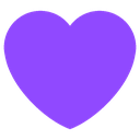 Emoji for heart_violet