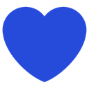 Emoji for heart_darkblue