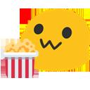 Emoji for blobpopcorn