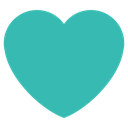 Emoji for heart_teal