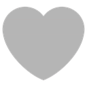 Emoji for heart_grey