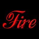 burning fire hot