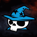 Blue Wizard Digital Icon