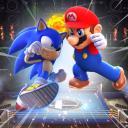 Sonic vs. Mario!