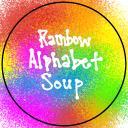 Rainbow Alphabet Soup