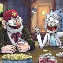 Rick and Morty/Gravity Falls