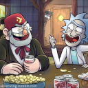 Rick and Morty / Gravity Falls rp discord server