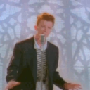 סמל של Never gonna give you up lyrics