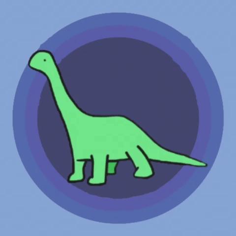 Logo for Dinosaurs