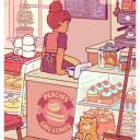 ♡ ━,, ❝Arête Café ೃ₊• ❞