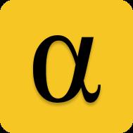 Logo for **AlphaBet**
