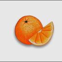 Orange || Emoji Server Icon