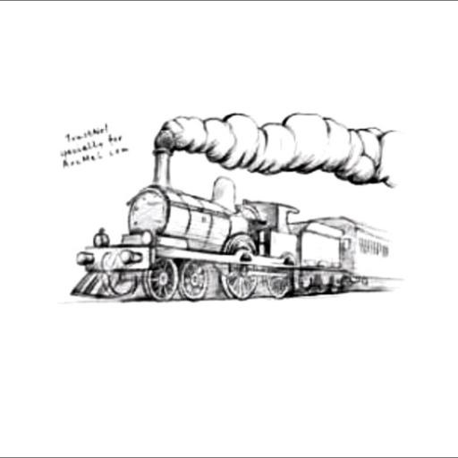 Logo for Train Station