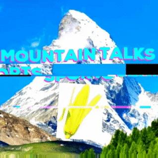 Logo for a mountain talks sports