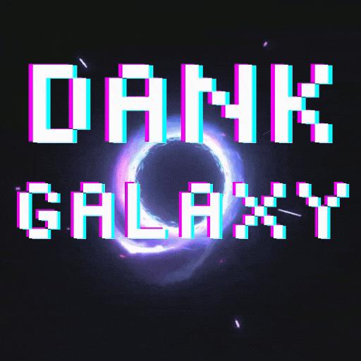 Logo for ‧₊˚⊹ Dank Galaxy ⊹˚₊‧