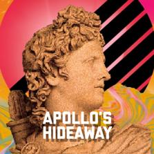 Logo for Apollo's Hideaway: Your Getaway