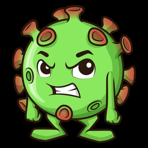 Logo for CovidSim | Support Server